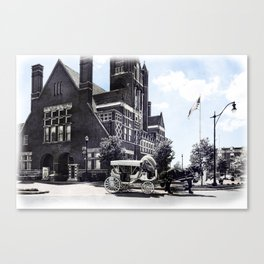 Historic Bardstown Carriage Canvas Print