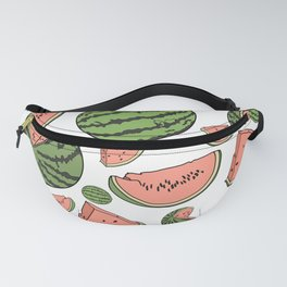 Watermelon Print Fanny Pack