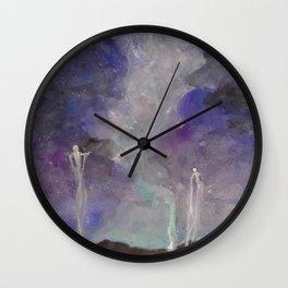 Spirit Walkers Wall Clock