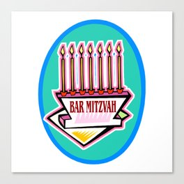 Mitzvah in style Canvas Print