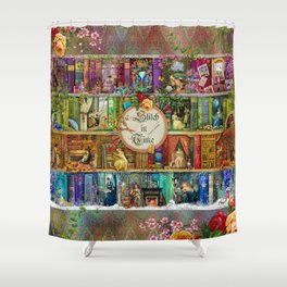 A Stitch In Time Shower Curtain