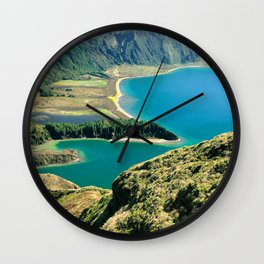 Lagoa do Fogo Wall Clock
