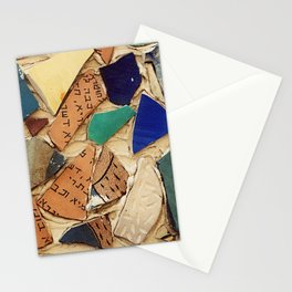 Neve Zedek Mosaic Wall Stationery Cards
