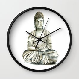Buddha brings you freedom Wall Clock