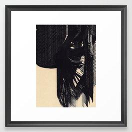 Glaciation Framed Art Print