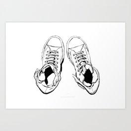 All-Stars 1 Art Print