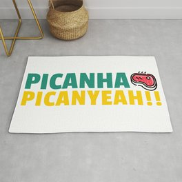 Picanha Picanyeah BBQ Tee Rug