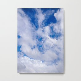The Clouds of Gaia Metal Print