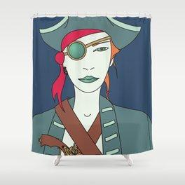 Captain Flint Shower Curtain