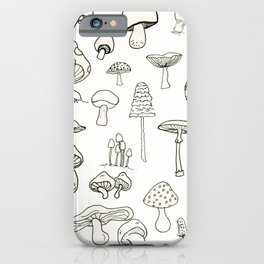 Simply Mushrooms iPhone Case