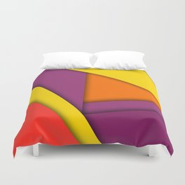 Background abstract Duvet Cover