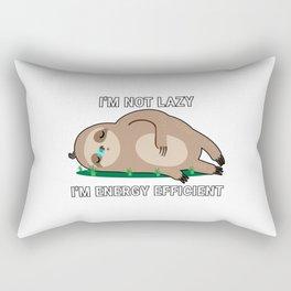 I'm Not Lazy I'm Energy Efficient Rectangular Pillow
