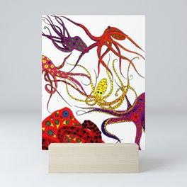 Consortium of Octopi Mini Art Print