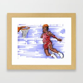 Flight of 88' Framed Art Print