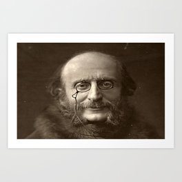 Portrait of Offenbach by Nadar Art Print