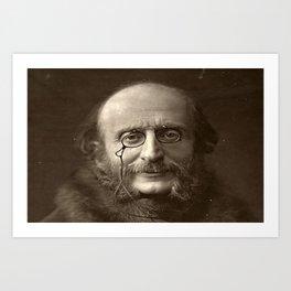 Portrait of Offenbach by Nadar Art Print