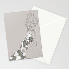 Japanese Couture Fashion Illustration Stationery Cards