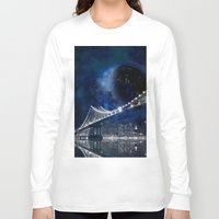 new york city Long Sleeve T-shirts featuring New!! New York City by Simone Gatterwe