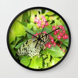 Black & Yellow Wonder Wall Clock