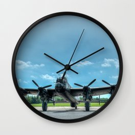 Waiting to Taxi Wall Clock