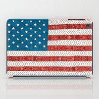 novelty iPad Cases featuring USA by Bianca Green