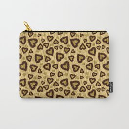Leopard Heart 01 Carry-All Pouch