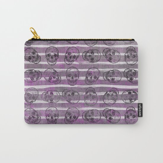 Grunge Skulls Carry-All Pouch