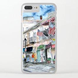 Savannah Georgia Clear iPhone Case