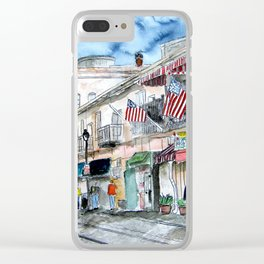 Savannah Georgia Clear iPhone Case