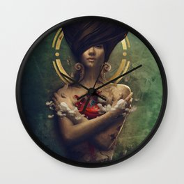 Inner Sanctuary Wall Clock