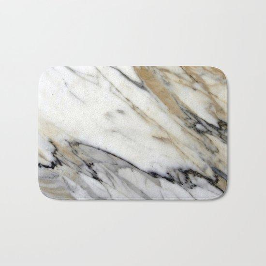 Calacatta Marble Bath Mat