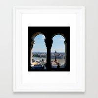 budapest Framed Art Prints featuring Budapest by Lynn Bolt