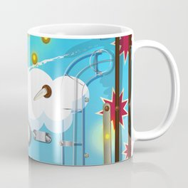 Pinball Machine arcade game Coffee Mug