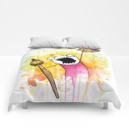 Meme Painting Comforters