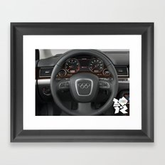 The Road To Success  Framed Art Print