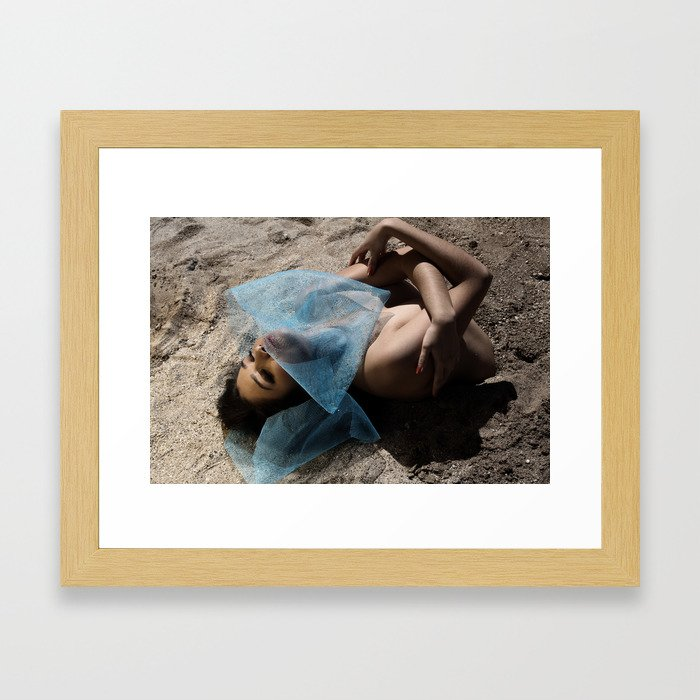 Birthing Taurus Framed Art Print