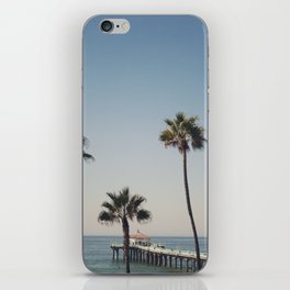 Manhattan Beach Pier iPhone Skin