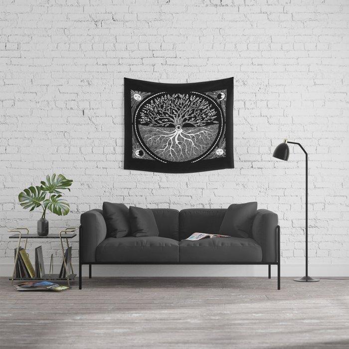 Druid Tree of Life Wandbehang