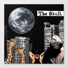 The Skull Canvas Print