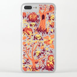 Halloween Path Clear iPhone Case