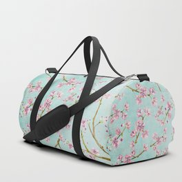 Spring Flowers - Cherry Blossom Pattern Duffle Bag