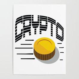 CRYPTO COIN Poster