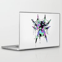 spider Laptop & iPad Skins featuring SPIDER by maivisto
