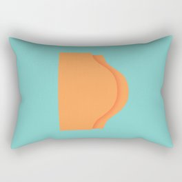 A Peach by any other name.. Rectangular Pillow