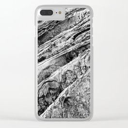 Abstract Landscape Sandy Hill Art Decor Texture Clear iPhone Case