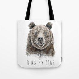 Ring my bear Tote Bag