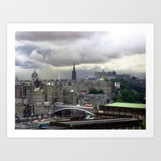 Edinburgh. (II) Art Print