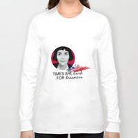 amelie Long Sleeve T-shirts featuring Dreamer Amelie  by MissAtomicBomb
