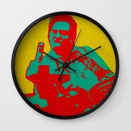 Johnny Cash - The Man in Black Wall Clock