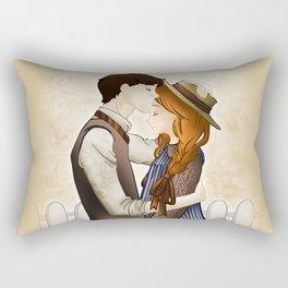 Anne Shirley and Gilbert Blythe Rectangular Pillow